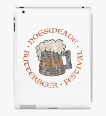 Butterbeer Festival (distressed) iPad Case/Skin