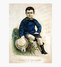 Little Charlie - 1874 Photographic Print