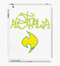 Australia Graffiti and Logo iPad Case/Skin