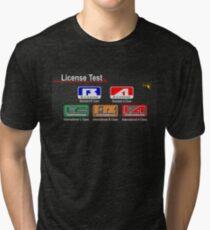 Gran Turismo 2 License  Tri-blend T-Shirt