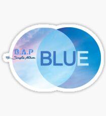 Pegatina BAP - Blue 7th Single Album