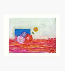 Flower's Box Art Print
