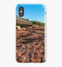 Bridge on Fundy Bay iPhone Case