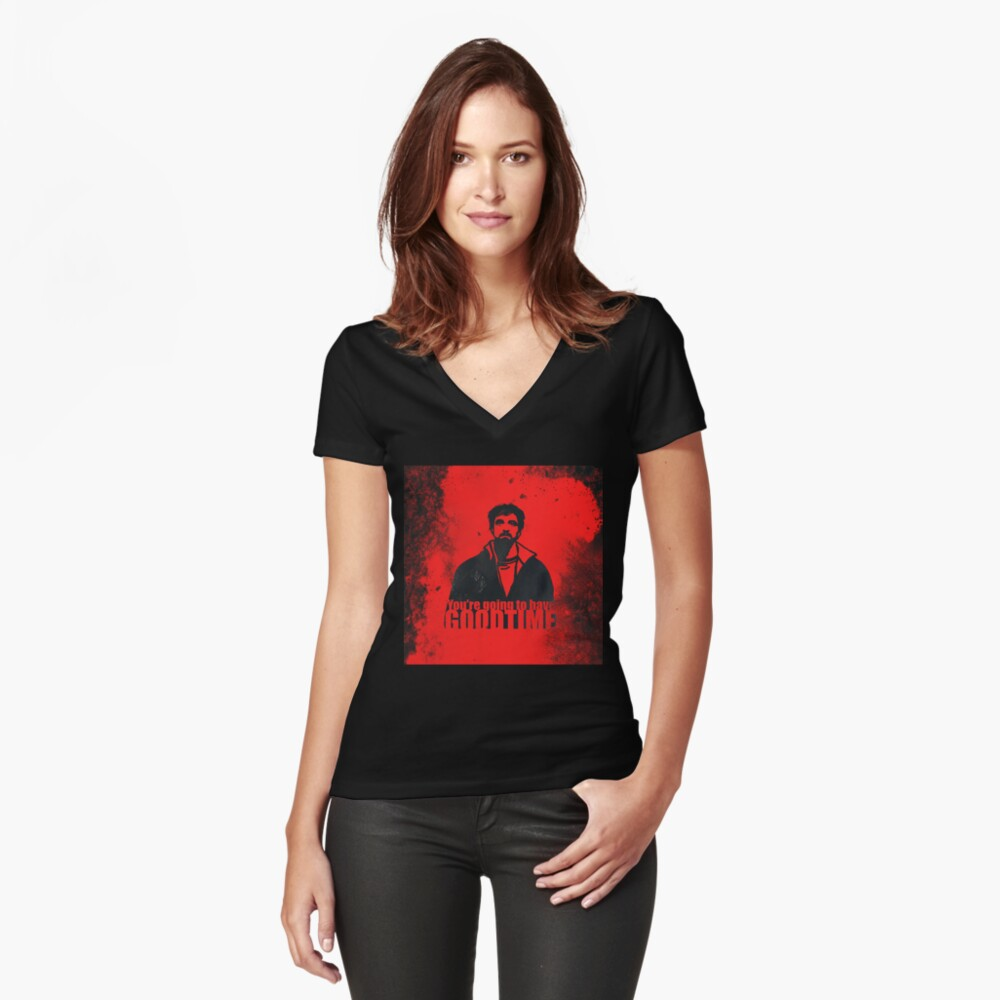 You're going to have a GOOD TIME Camiseta entallada de cuello en V