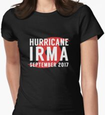 Hurricane Irma 2017 Storm Survivor Women's Fitted T-Shirt