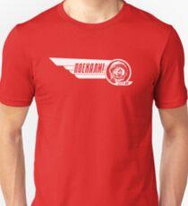 LASS UNS GEHEN! Yuri Gagarin Slim Fit T-Shirt