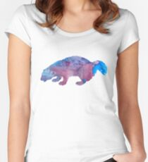 Woodchuck / groundhog / whistlepig Women's Fitted Scoop T-Shirt
