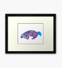 Woodchuck / groundhog / whistlepig Framed Print