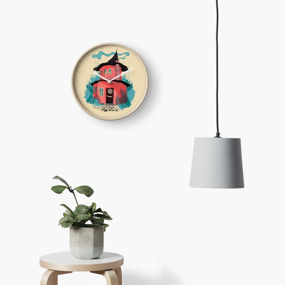 Woodland House Clock