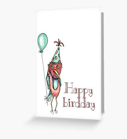 Happy birdday Greeting Card
