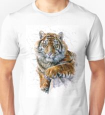 Tiger watercolor predator T-Shirt