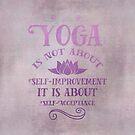 Yoga Philosophy Typography Art by artsandsoul