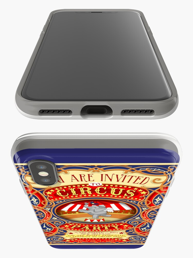 Alternate view of Dumbo Flying Elephant Circus Party  iPhone Cases & Covers