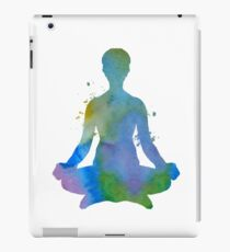 Meditation iPad Case/Skin