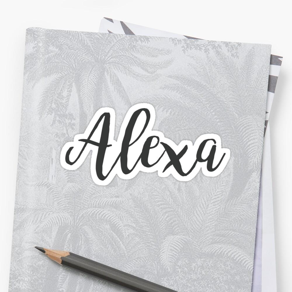 Alexa   First Name by koovox