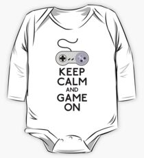 Keep Calm And Game On One Piece - Long Sleeve