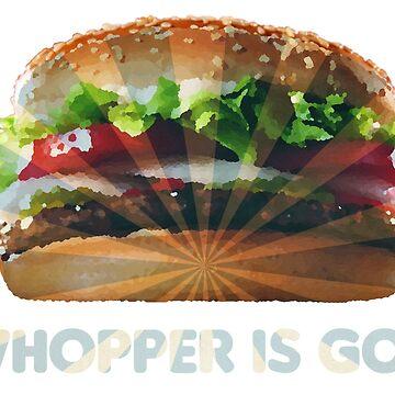 God burger by SupraJoe