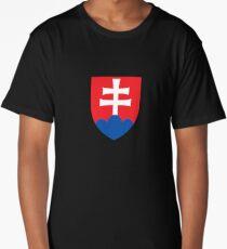 Slovakia coat arms Long T-Shirt