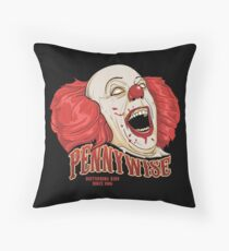 PENNYWISE - DISTURBING KIDS SINCE 1986 Throw Pillow