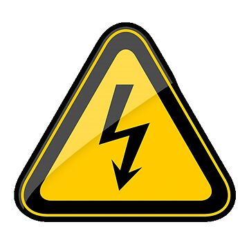 DANGER, HIGH VOLTAGE, WARNING, SIGN, Electricity by TOMSREDBUBBLE