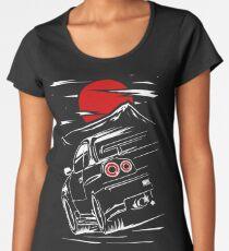 Nissan Skyline GTR 34 | Haruna Frauen Premium T-Shirts