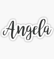 Angela | First Names Sticker