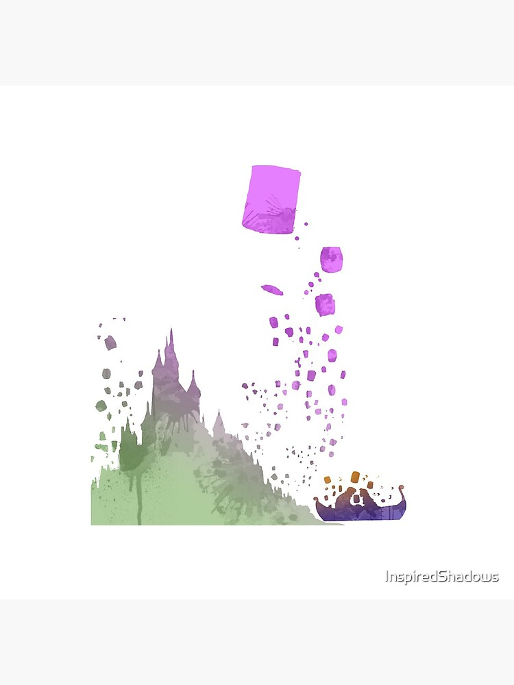 Boat infront of castle Inspired Silhouette by InspiredShadows