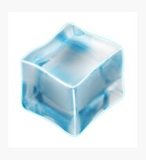 COOL, ICE, CUBE, FREEZE, FREEZING, COLD Photographic Print