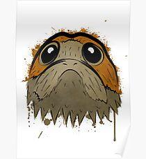 Star Wars Porg  Poster