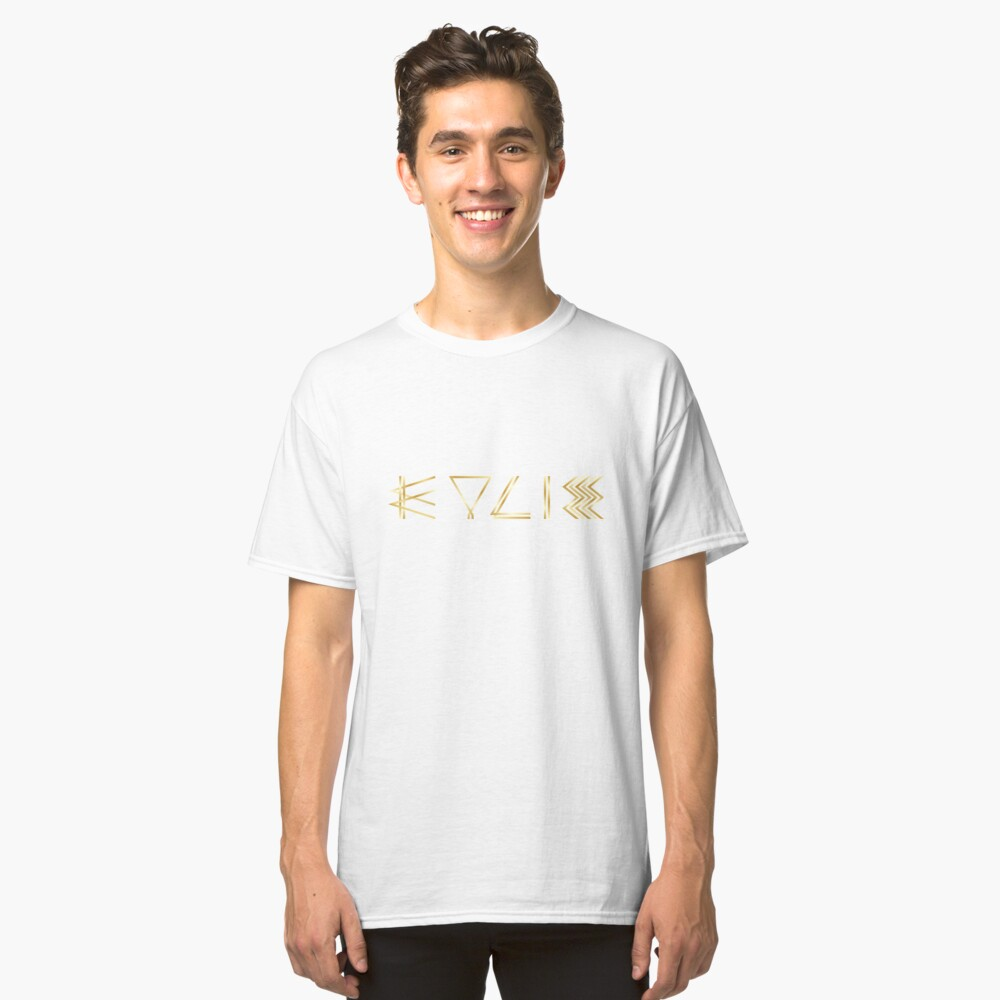 Kylie 2016 Logo Classic T-Shirt Front