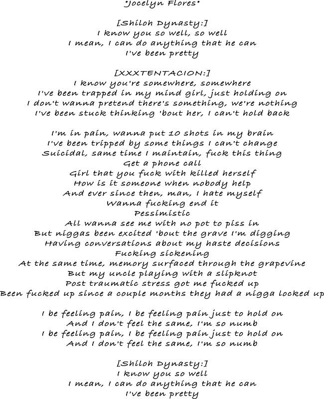Lyric lyrics to something : Jocelyn Flores lyrics
