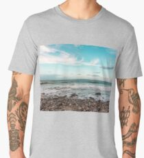Autumn seascape Men's Premium T-Shirt