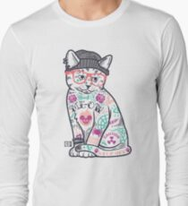 """Cats Put the """"Me"""" in MEOW Long Sleeve T-Shirt"""