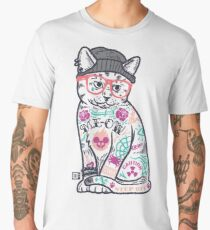 "Cats Put the ""Me"" in MEOW Men's Premium T-Shirt"