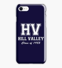 Hill Valley High School iPhone Case/Skin
