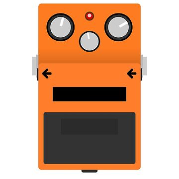 Distortion Pedal by d13design