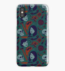 MFM-Color Murderino Pattern iPhone Case