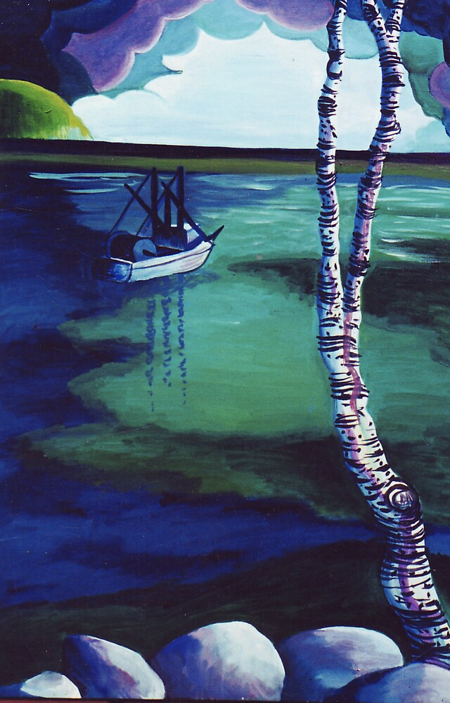 The Birch's View by Jill Mattson
