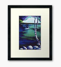 The Birch's View Framed Print