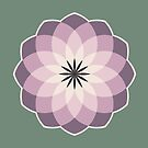Lavender Medallions  by Annie Webster