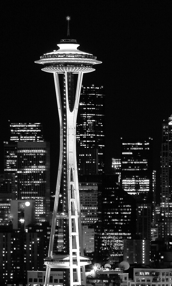 Space Needle by ajjj