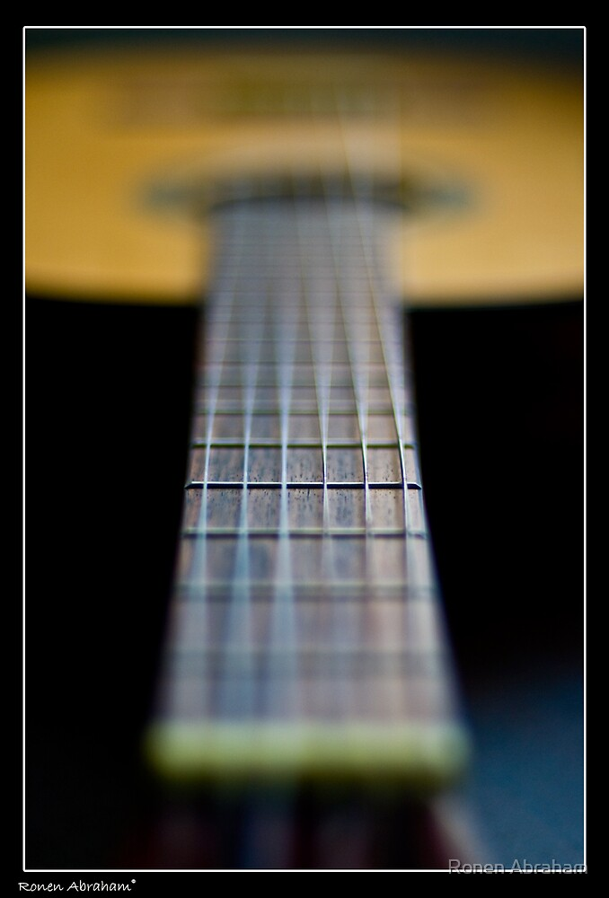Play With My Guitar 1 by Ronen Abraham