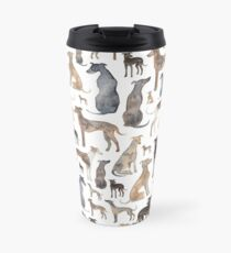 Greyhounds, Wippets and Lurcher Dogs! Travel Mug