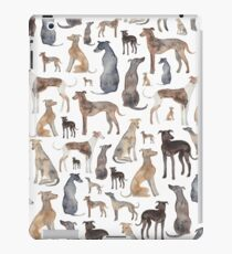 Greyhounds, Wippets and Lurcher Dogs! iPad Case/Skin