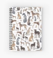 Greyhounds, Wippets and Lurcher Dogs! Spiral Notebook