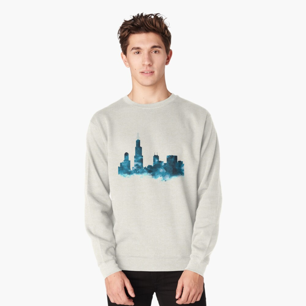 Chicago Skyline Pullover