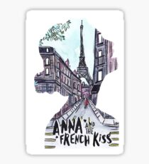 Anna and the french kiss Sticker