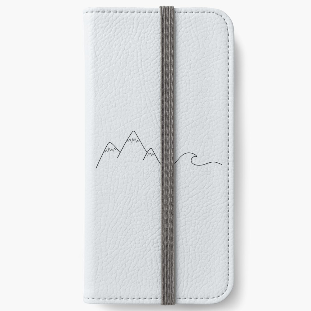 Mountain Wave iPhone Wallet