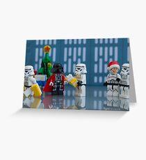 Darth Santa Greeting Card