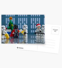 Darth Santa Postcards
